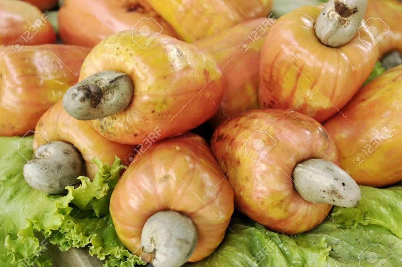 A fruit theme: Cashew Stock Photo - 18589642