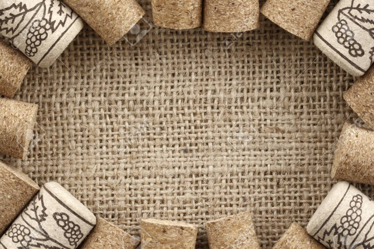 Photo Of Wine Corks Frame Stock Photo Picture And Royalty Free