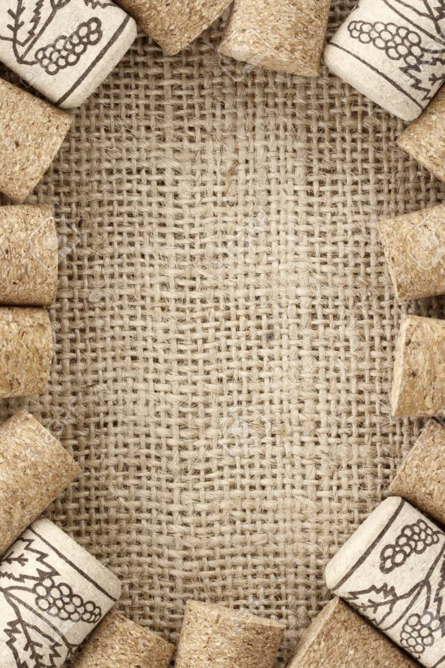 Wine Corks Frame Stock Photo Picture And Royalty Free Image Image
