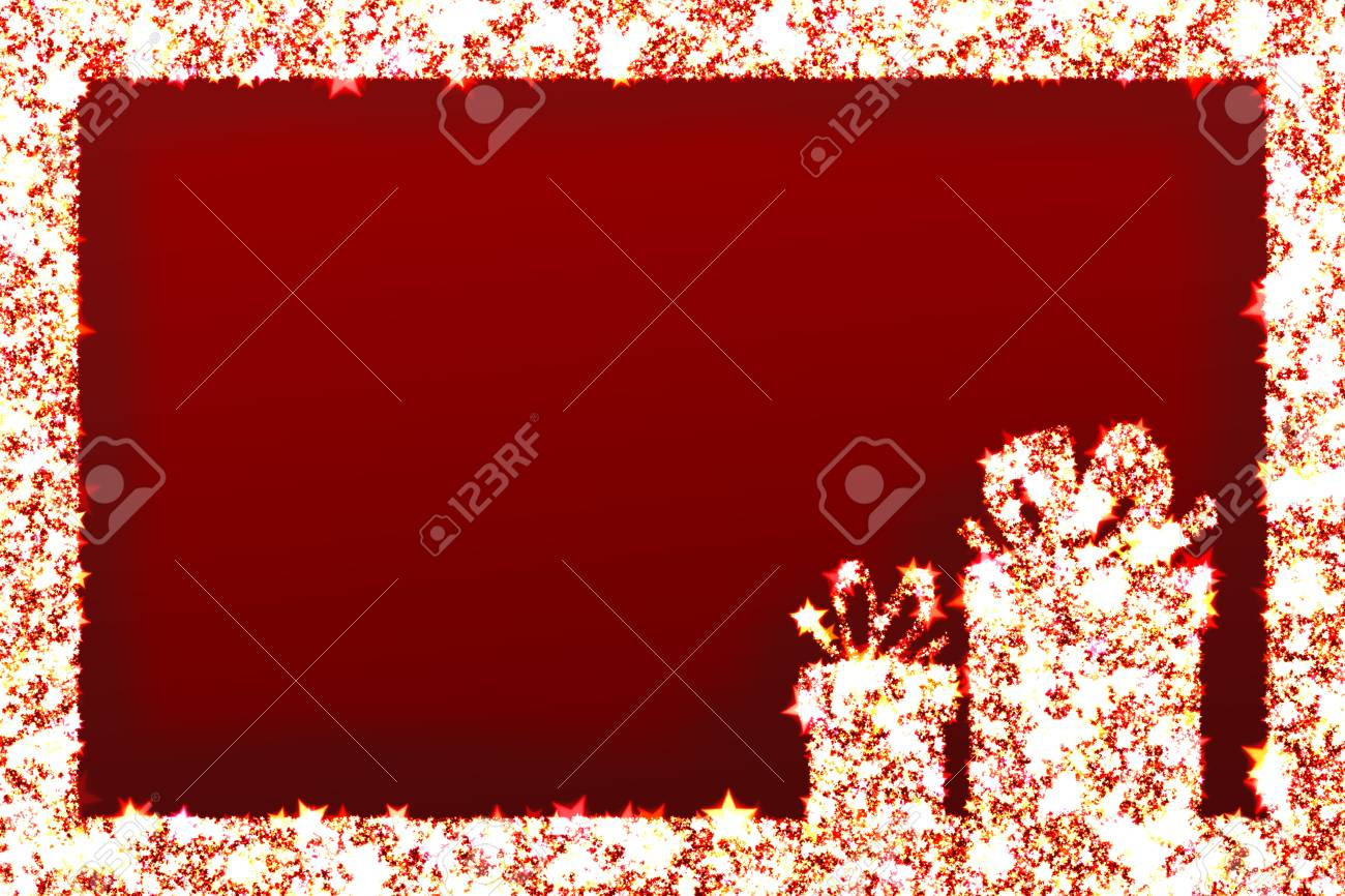 Greeting cards christmas gifts and shining stars on red background greeting cards christmas gifts and shining stars on red background stock photo 24209362 m4hsunfo