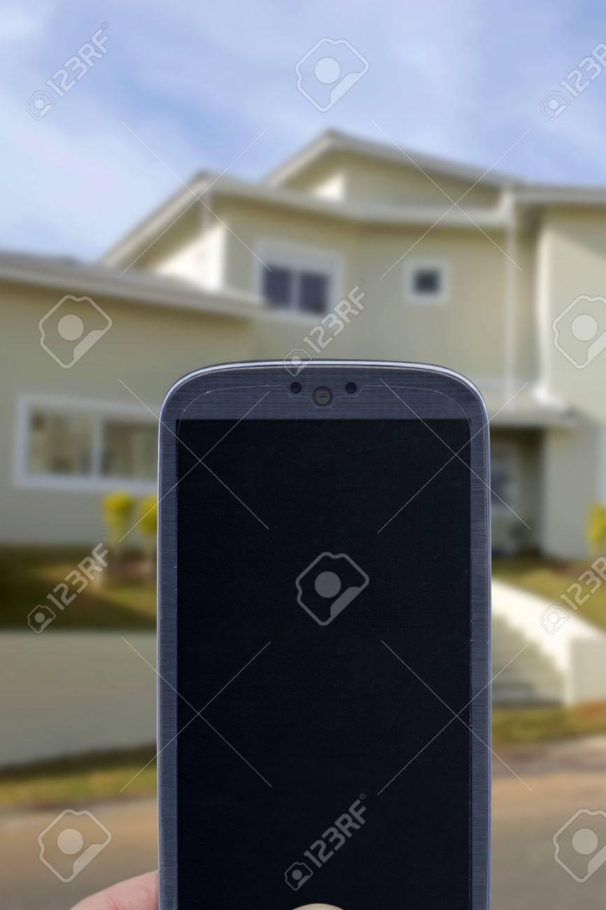 Smatrphone Und Haus. Ideen Für Smartphone Home Security System ...