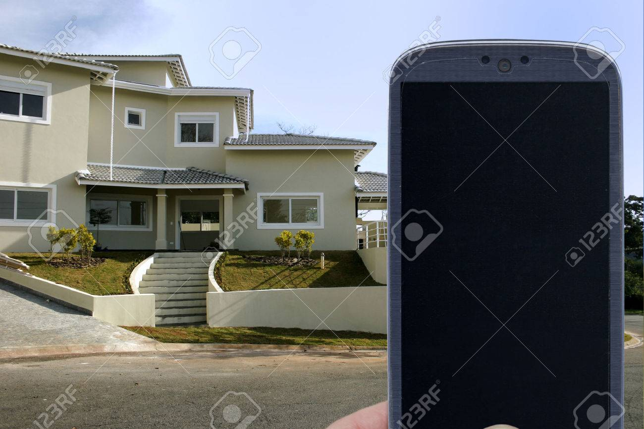 Smatrphone Und Haus. Ideen Für Echte Smartphone Home Security System ...