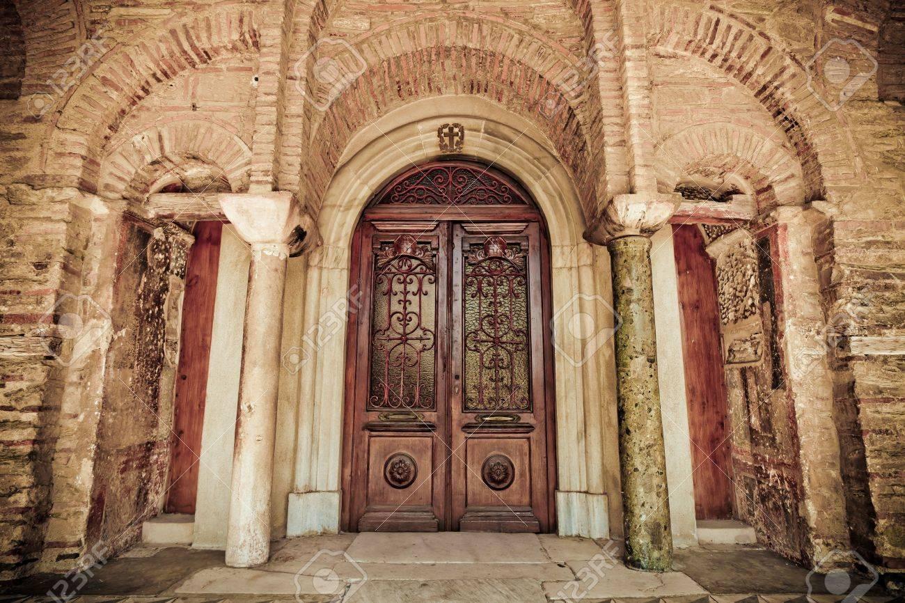 Great Christian Doors: Ancient Church Wood Door