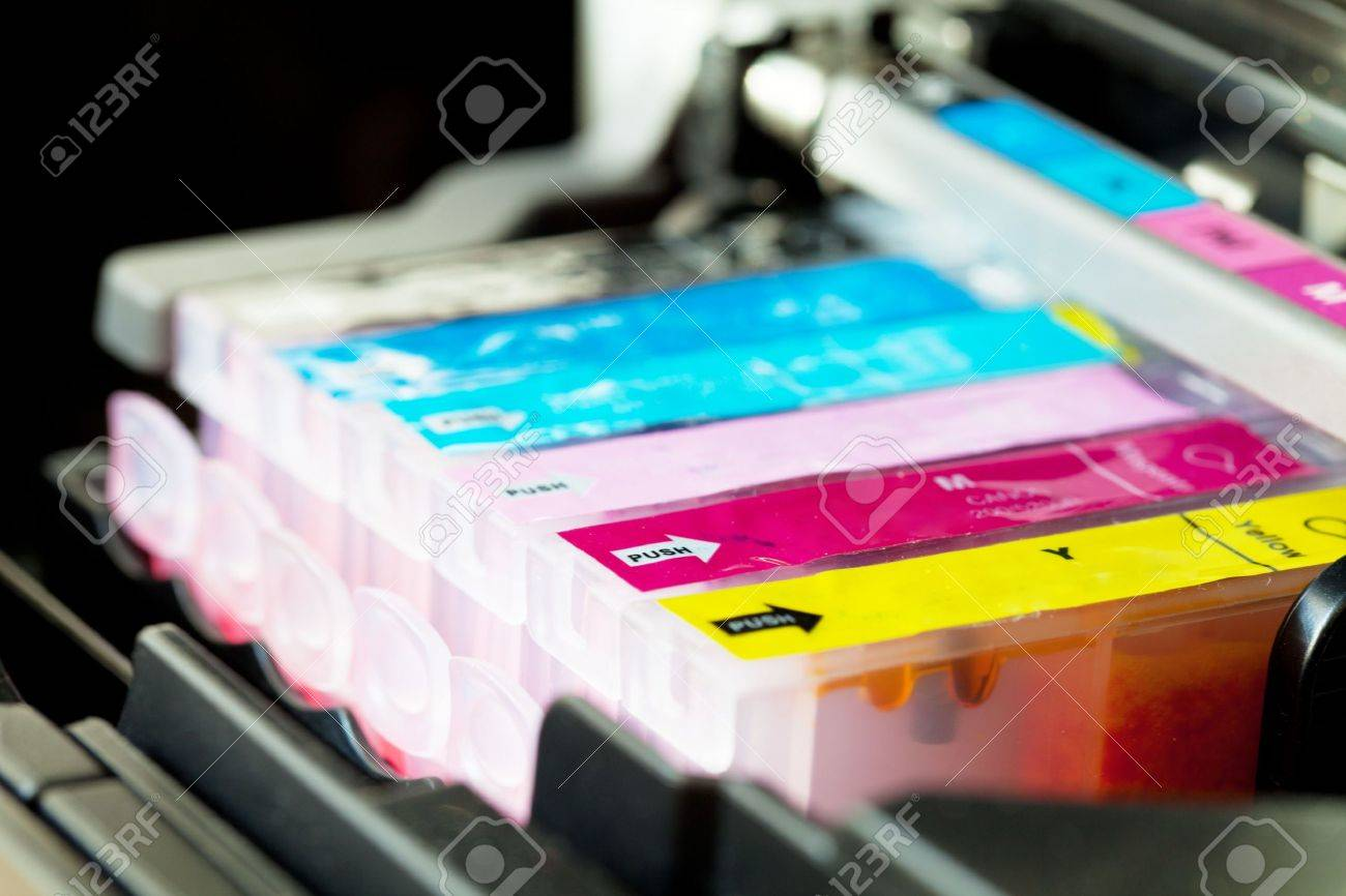 Color printer Cartridge cmyk set - 7945729