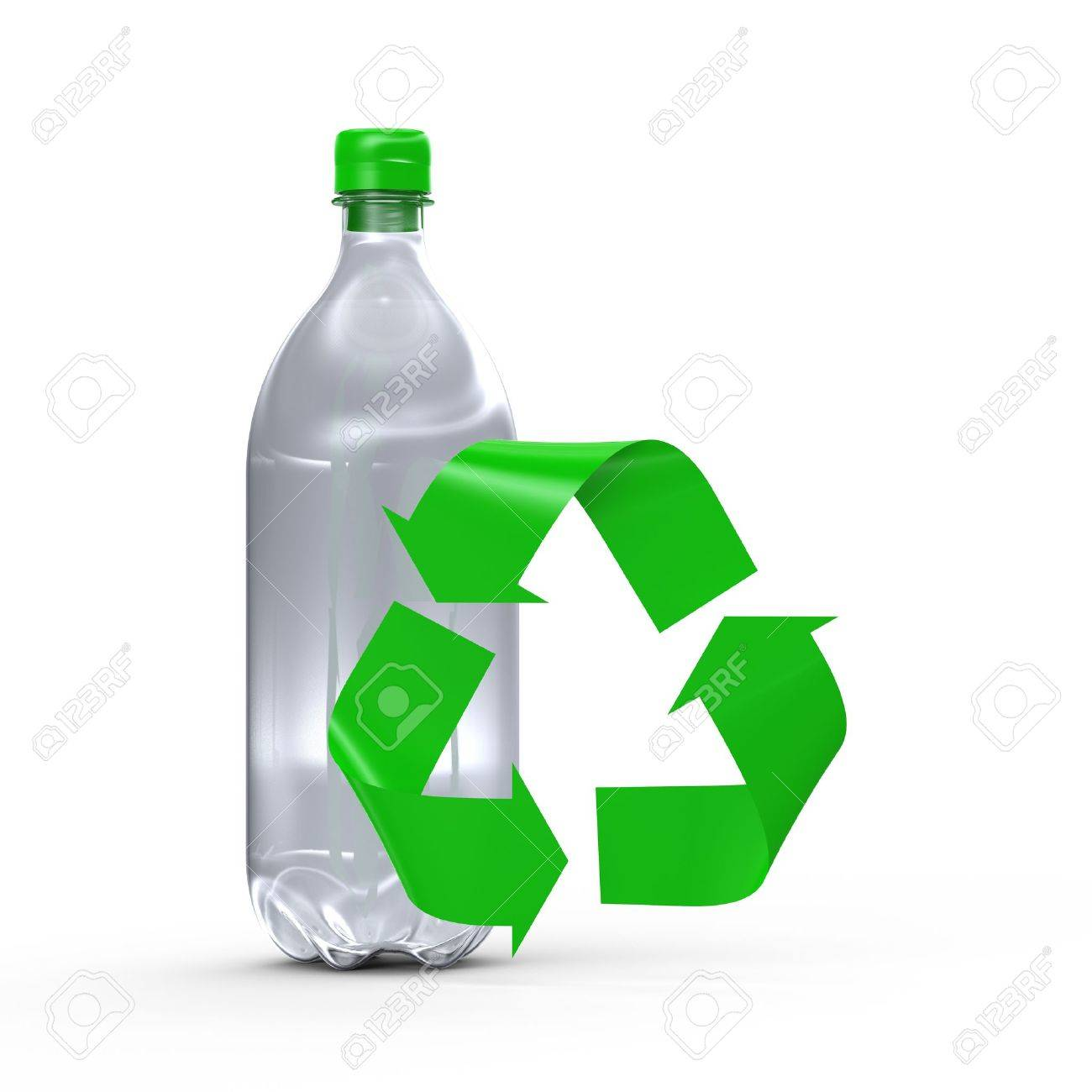Plastic Bottle Recycling 3412 Plastic Bottles Recycling Stock Vector Illustration And