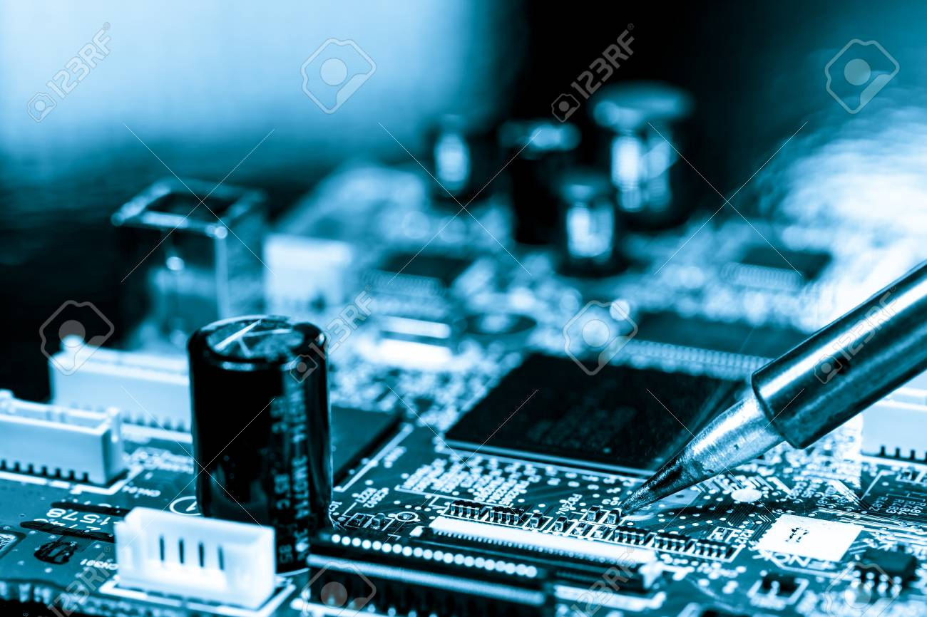 soldering of electronic circuit board stock photo picture and rh 123rf com
