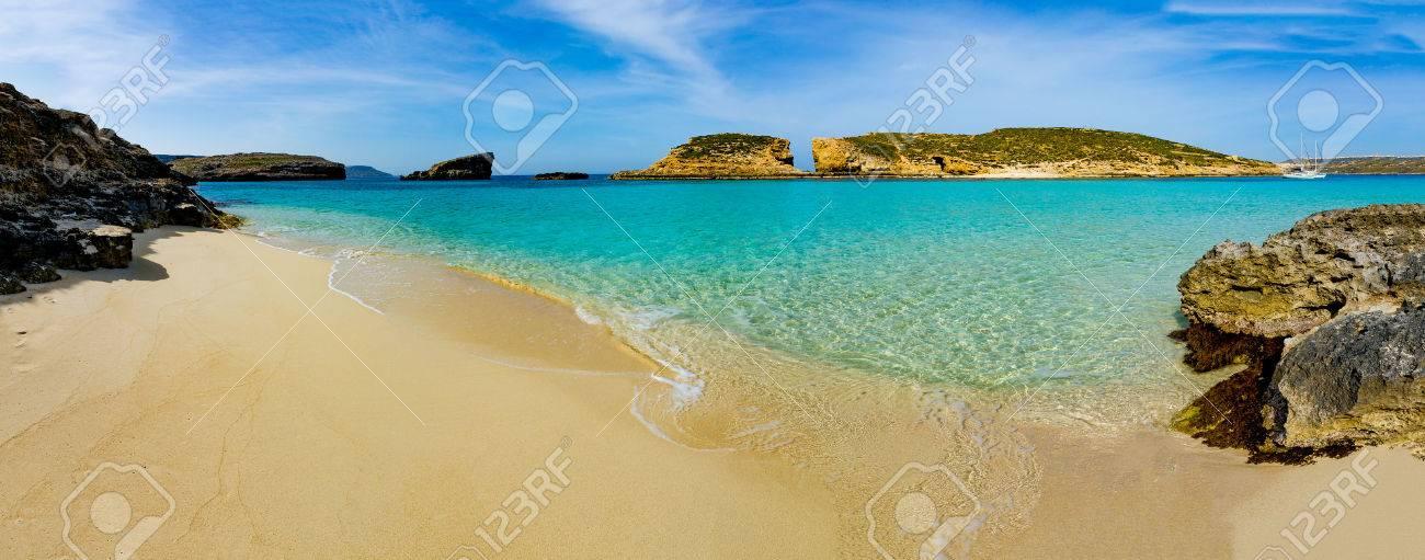 The Blue Lagoon On Comino Island Malta Gozo