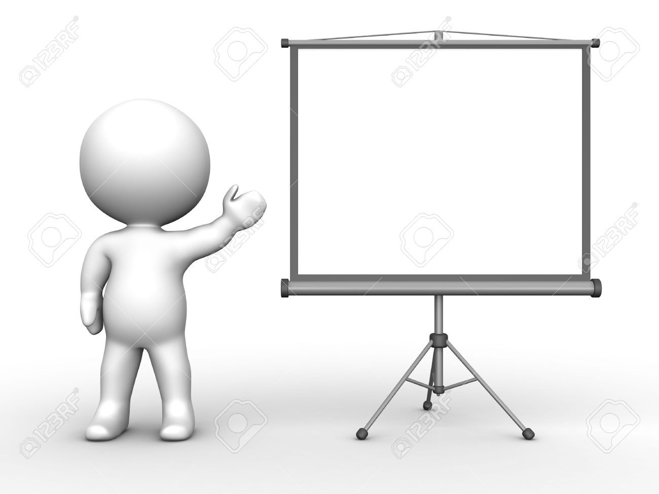 showing post media for cartoon person presenting www