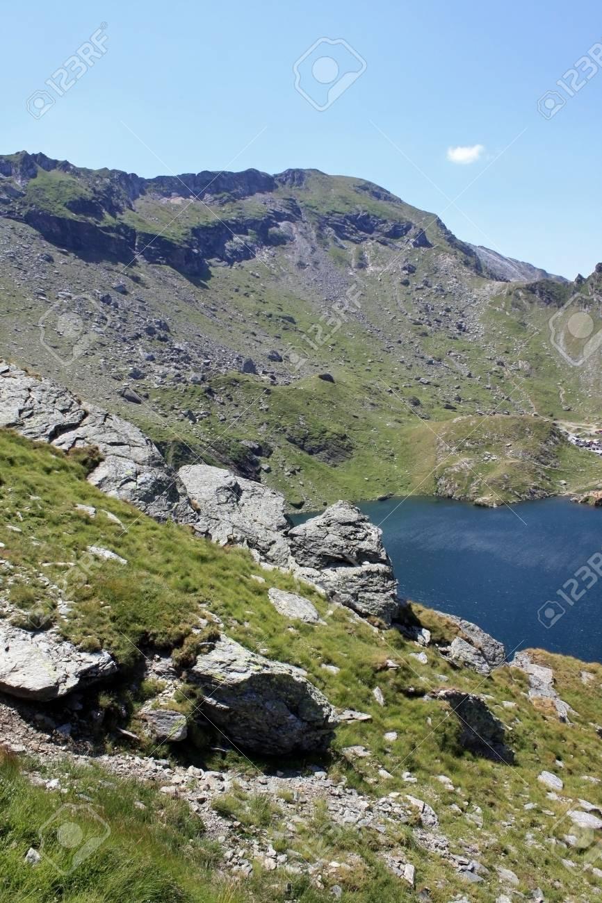 Mountain landscape and glacial lake Stock Photo - 14541002