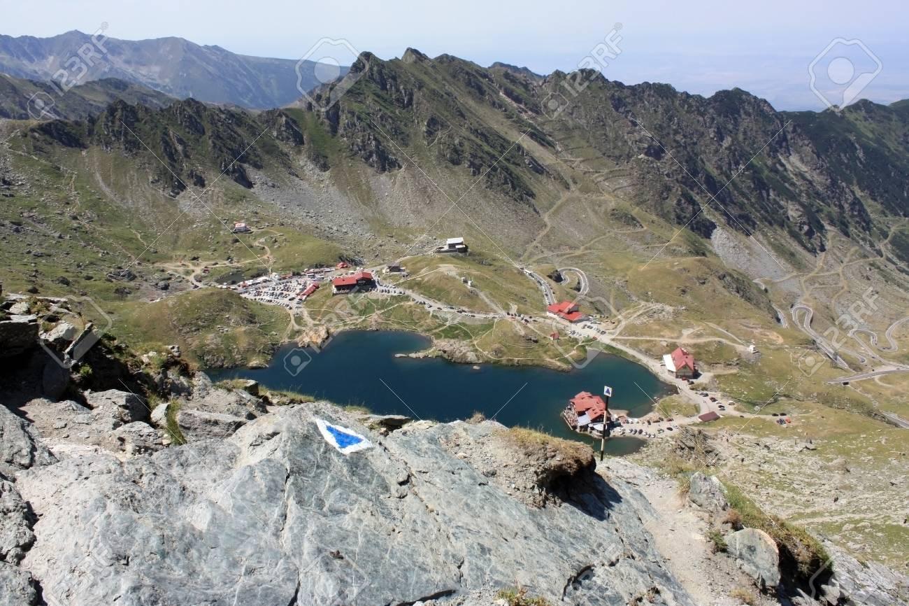 Mountain landscape from Transfagarasan Stock Photo - 14540967