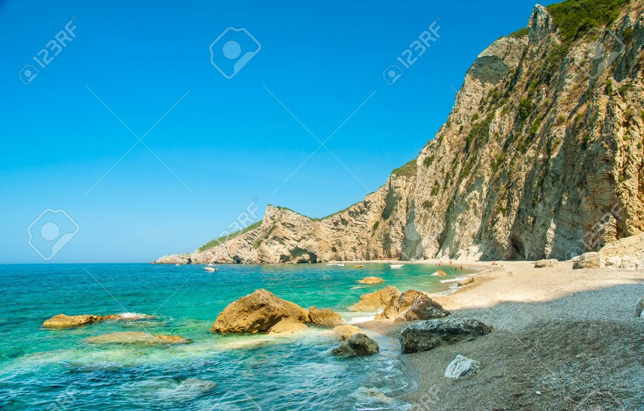 Paradise Beach is one of the most beautiful beaches in Corfu