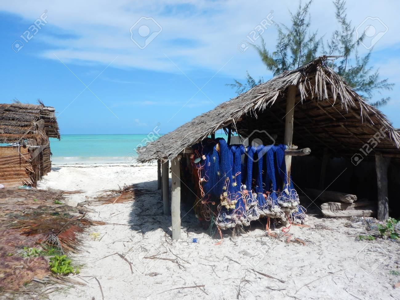 A Simple House In A Village In Zanzibar Stock Photo Picture And