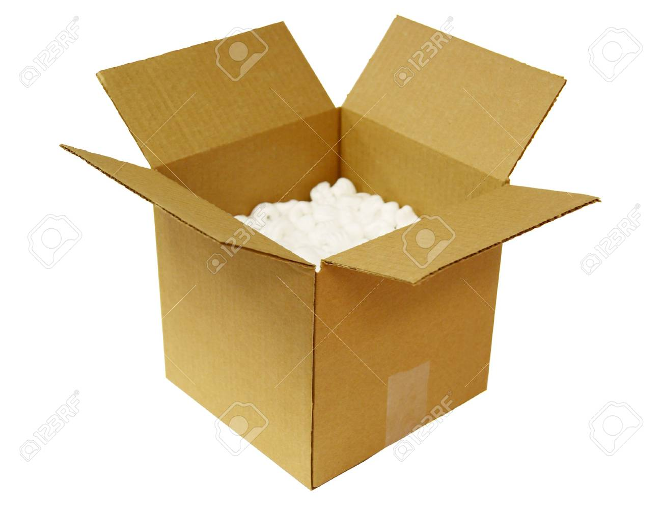 Open Cardboard Box Stock Photo - 7820038