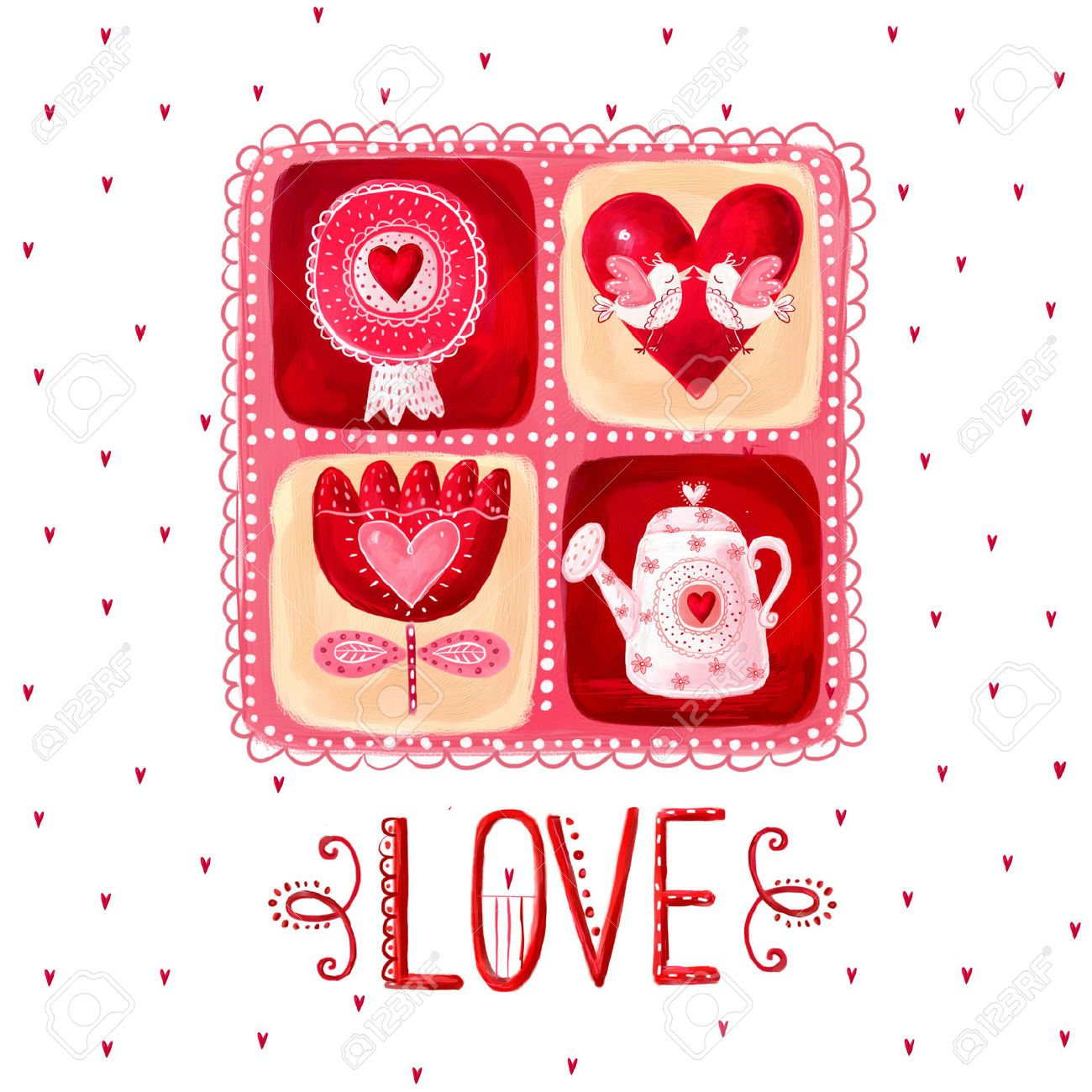 Save Das Datum Hintergrund. Weinlesehintergrund. Valentine Background.