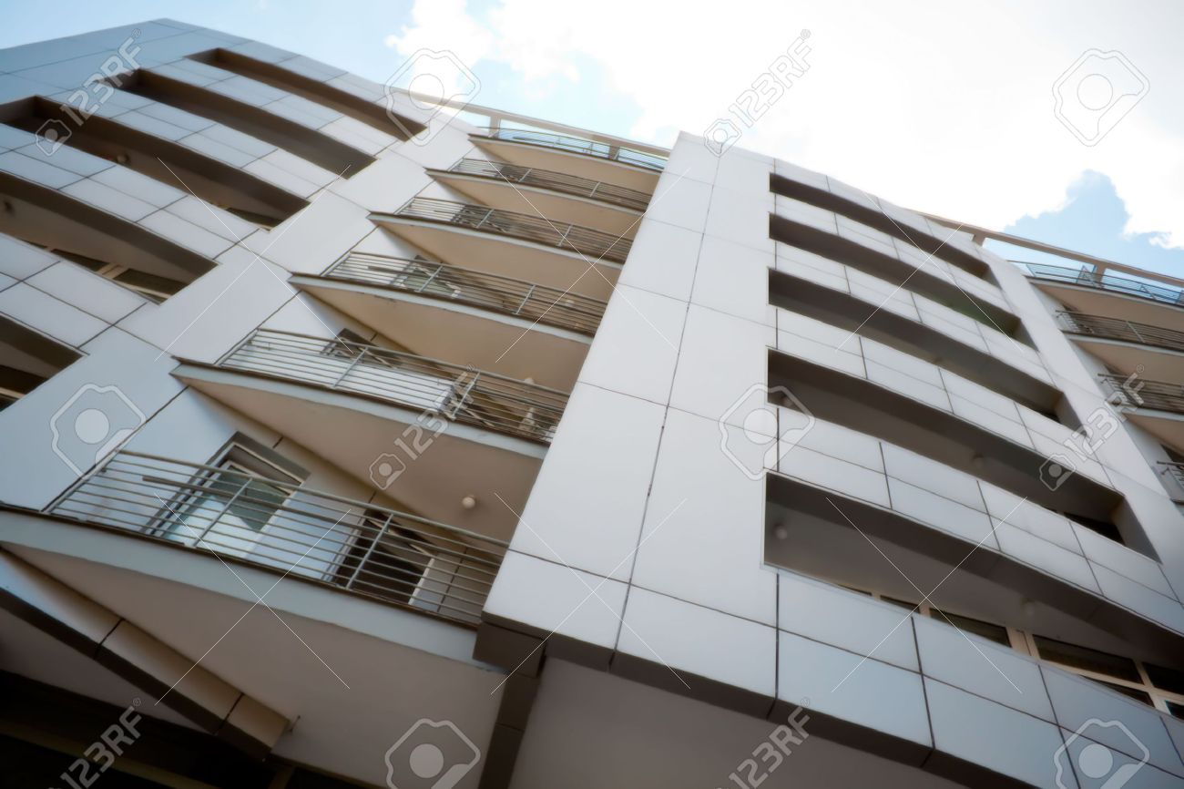 High Rise Apartment Design Exterior apartment exterior images & stock pictures. royalty free apartment