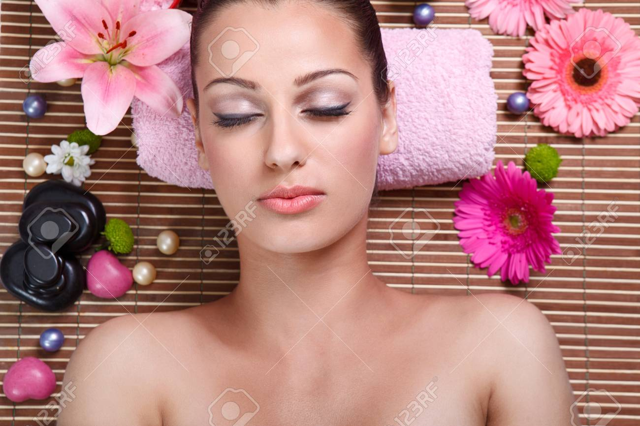 Spa Woman in Beauty Salon Stock Photo - 14734792