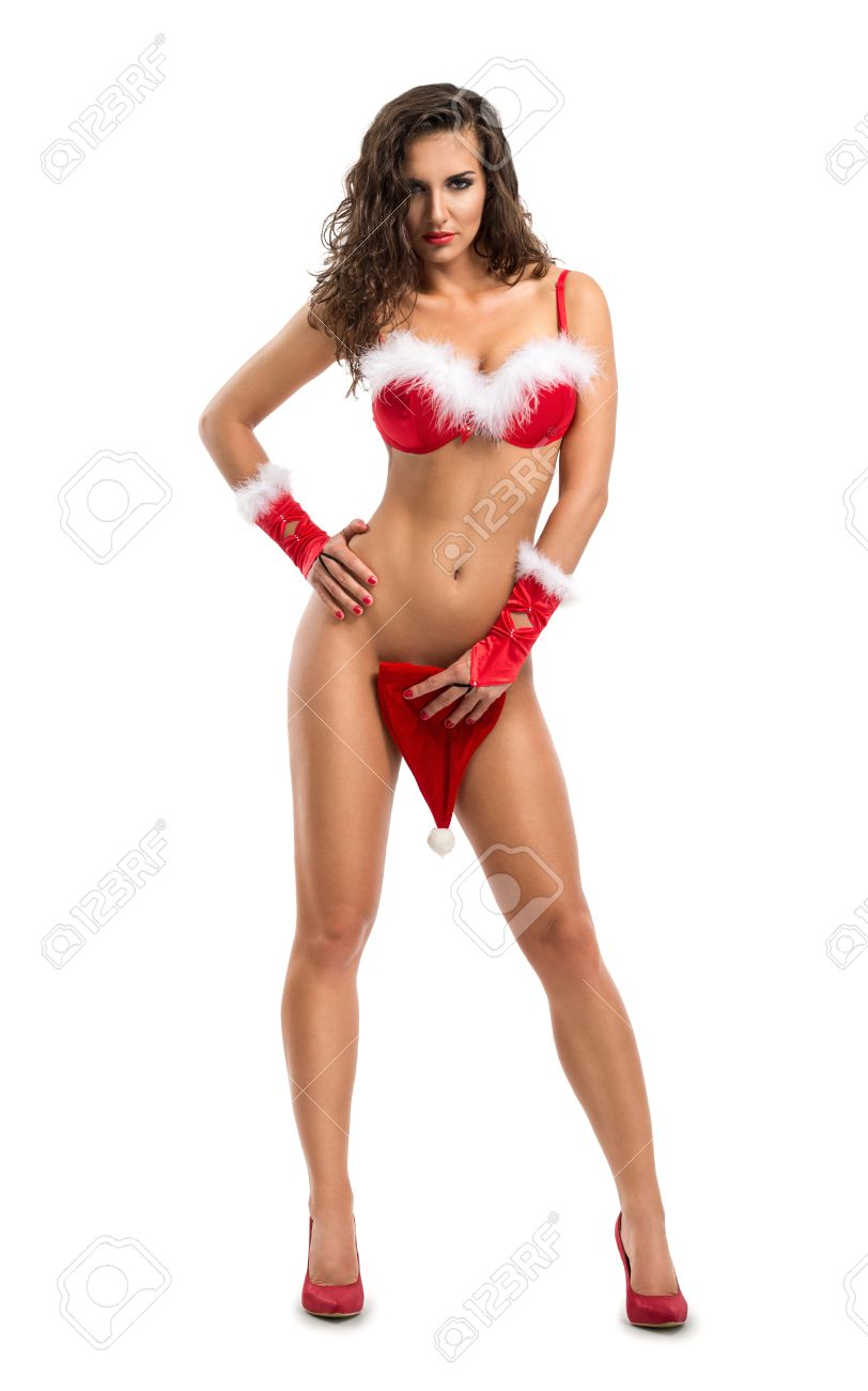Santa s topless elves erotic picture