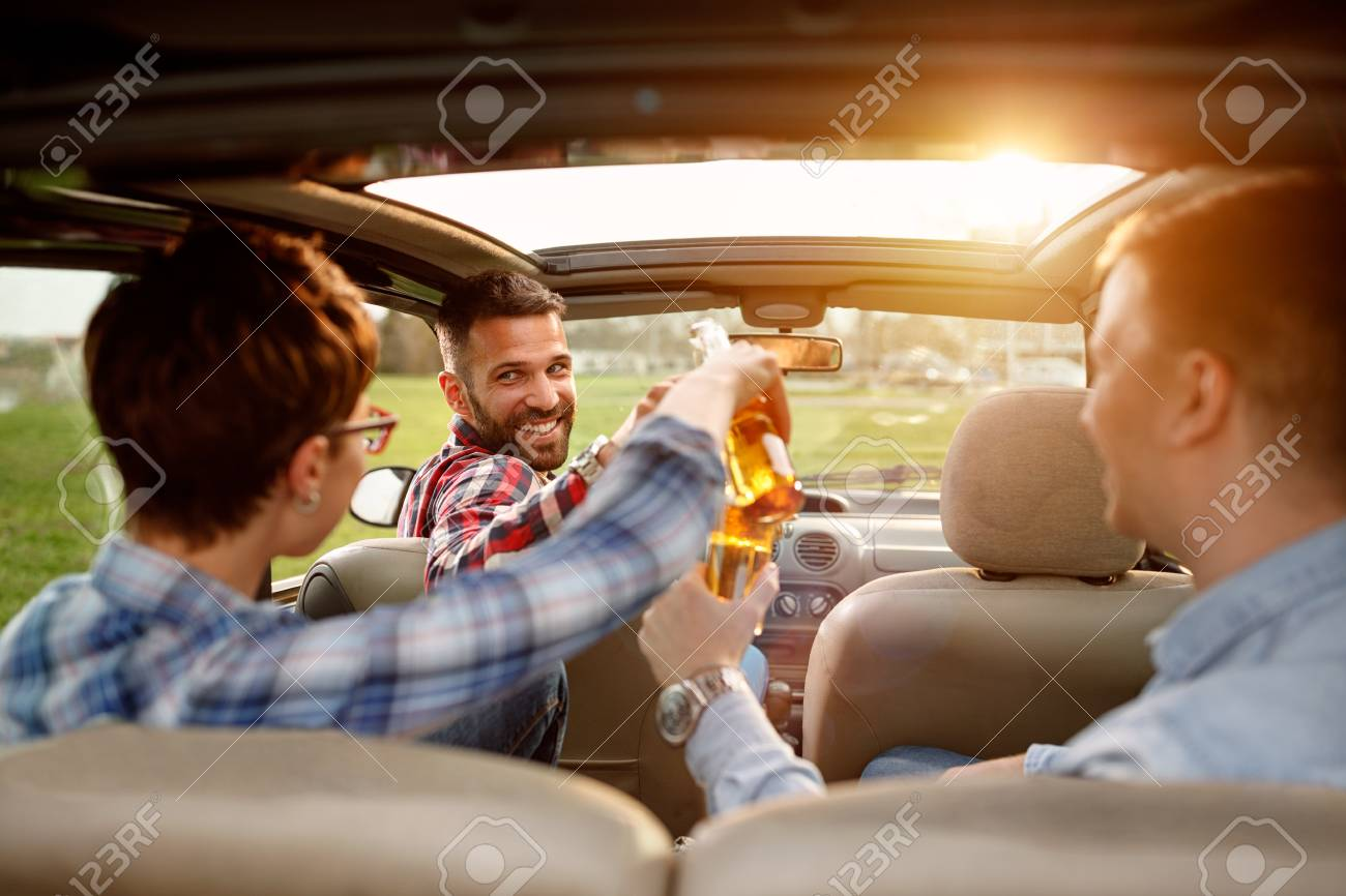 Friends Enjoying Time Together On Road Trip In The Beer Stock Photo Picture And Royalty Free Image Image 86178214