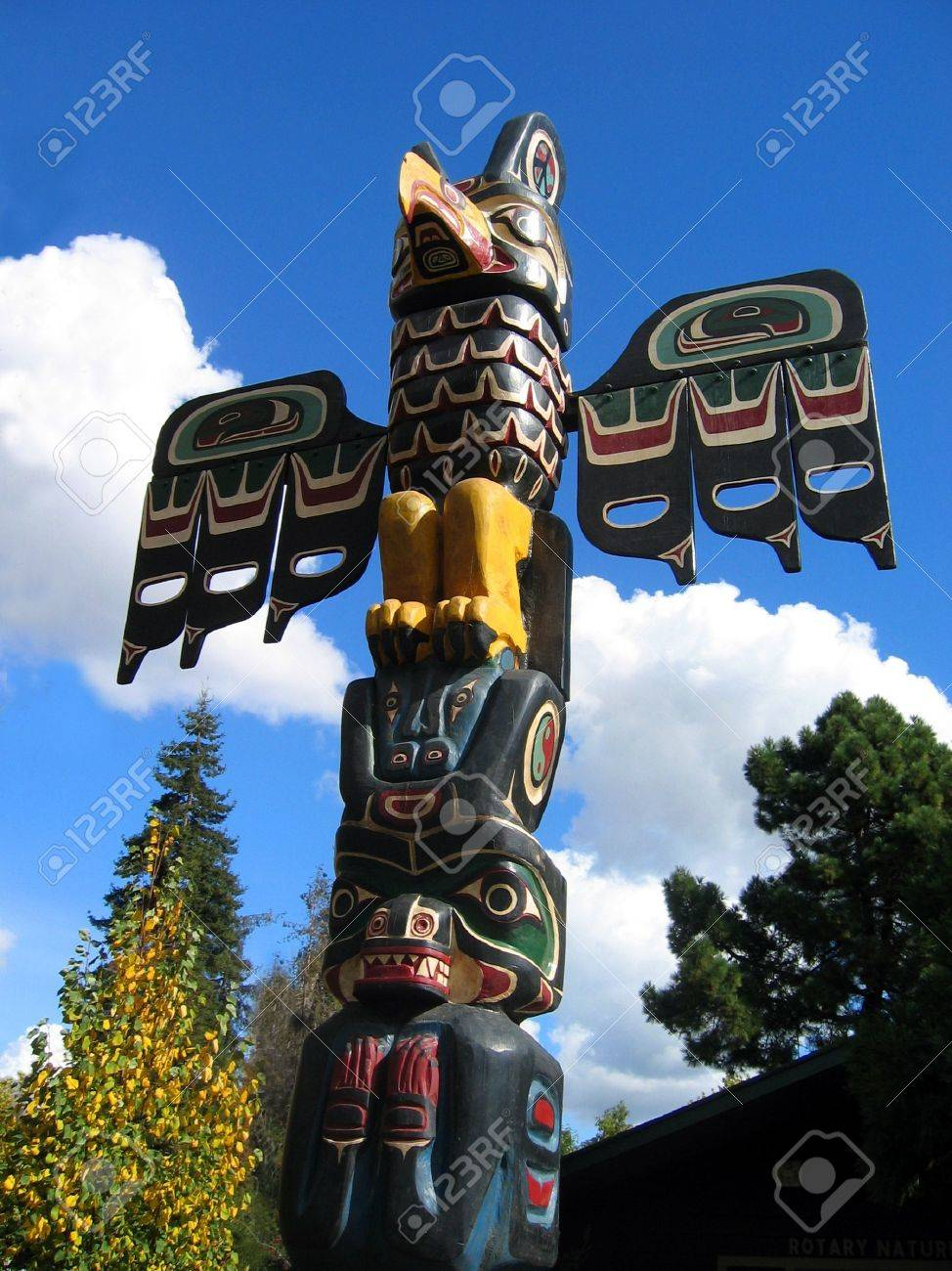 Totem Pole Stock Photo - 334826