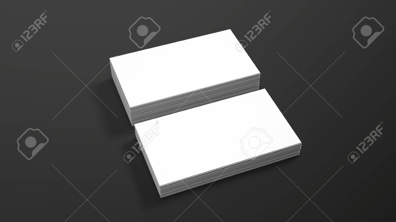 Business card template on black background high resolution 3d business card template on black background high resolution 3d render personal branding mockup template fbccfo Choice Image