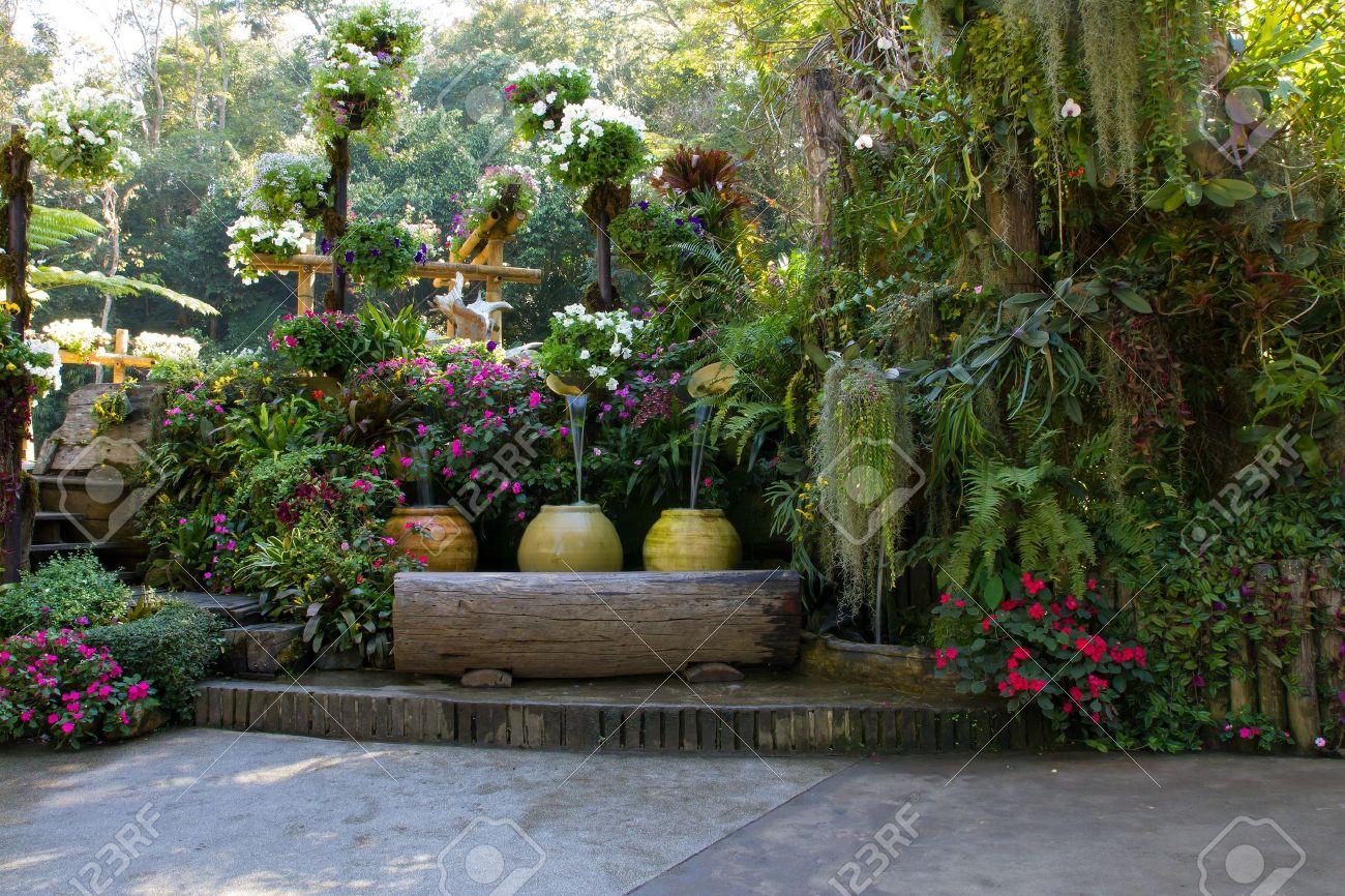Backyard patio gardens - Patio Garden Beautiful Backyard Garden Park Scene