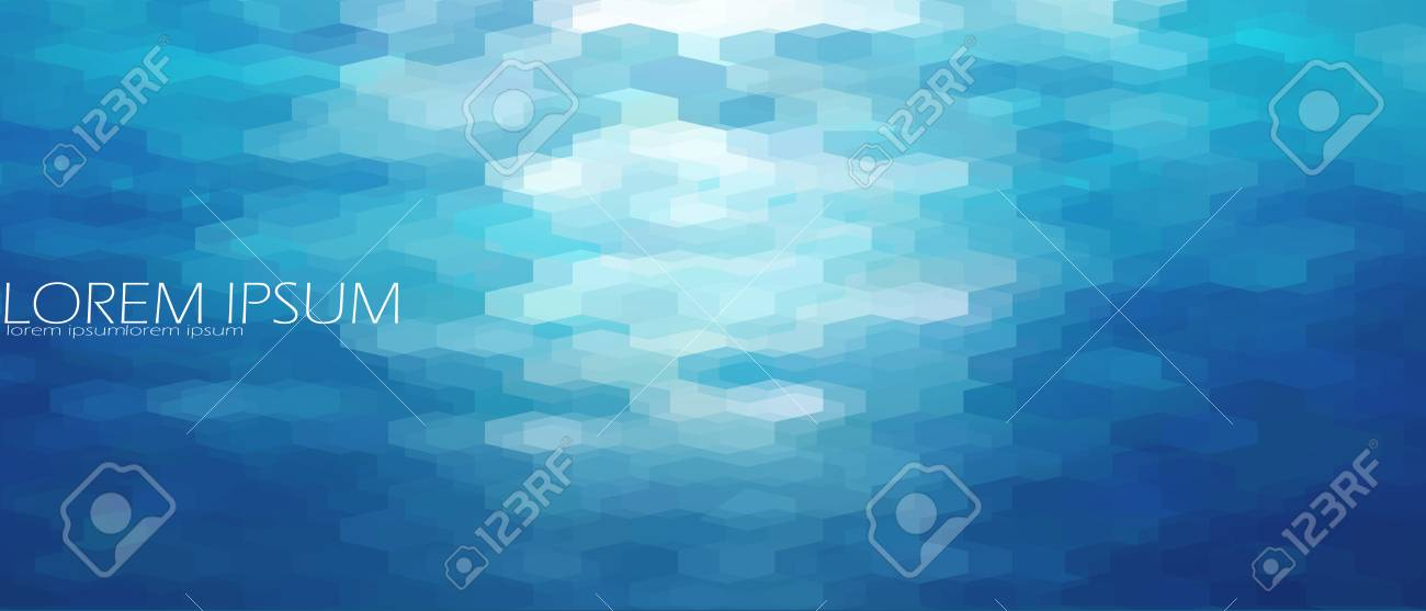 blue aqua water sea background template underwater abstract