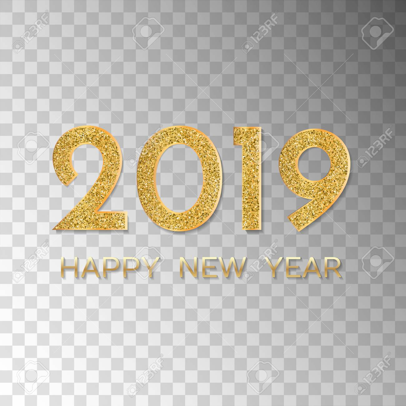 Happy New Year Transparent Background 31