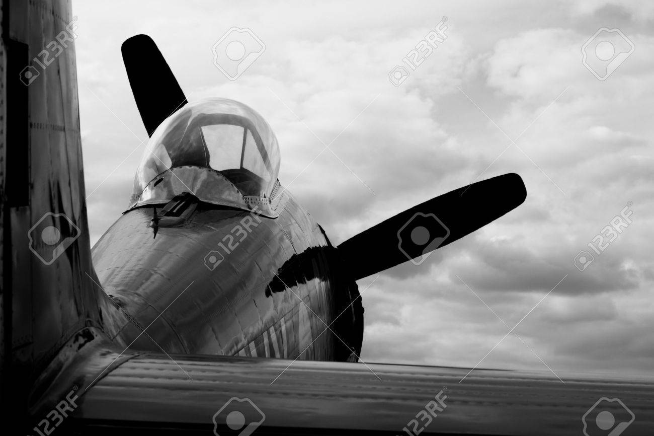 EVORA, PORTUGAL - SEPTEMBER 19, 2009: Hawker Sea Fury FB 11 at Portugal Air Show 2009. The Hawker Sea Fury aircraft is a British naval fighter-bomber developed by Hawker during the Second World War. Stock Photo - 8956178