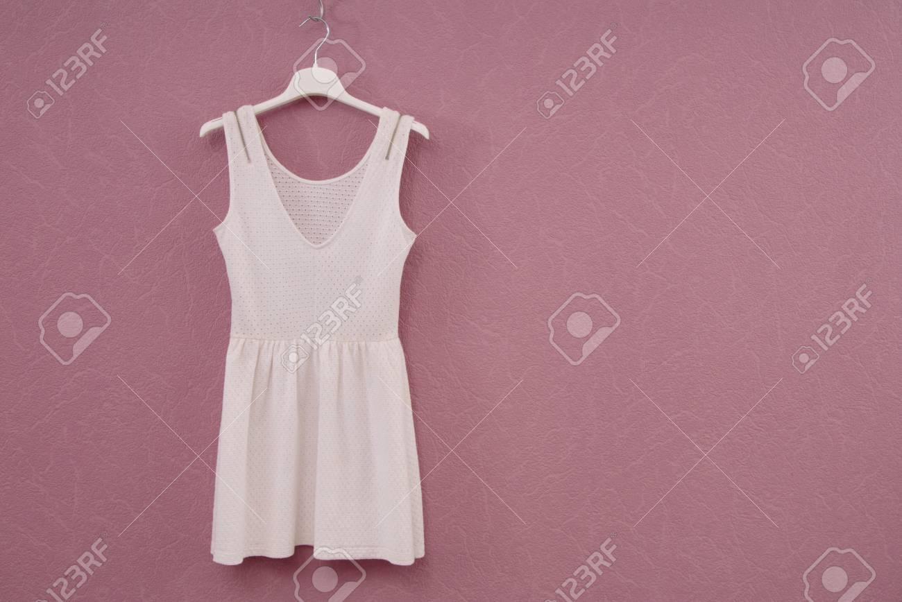 Vestido Blanco Vestido Veraniego Vestido De Algodón Ropa De Mujer