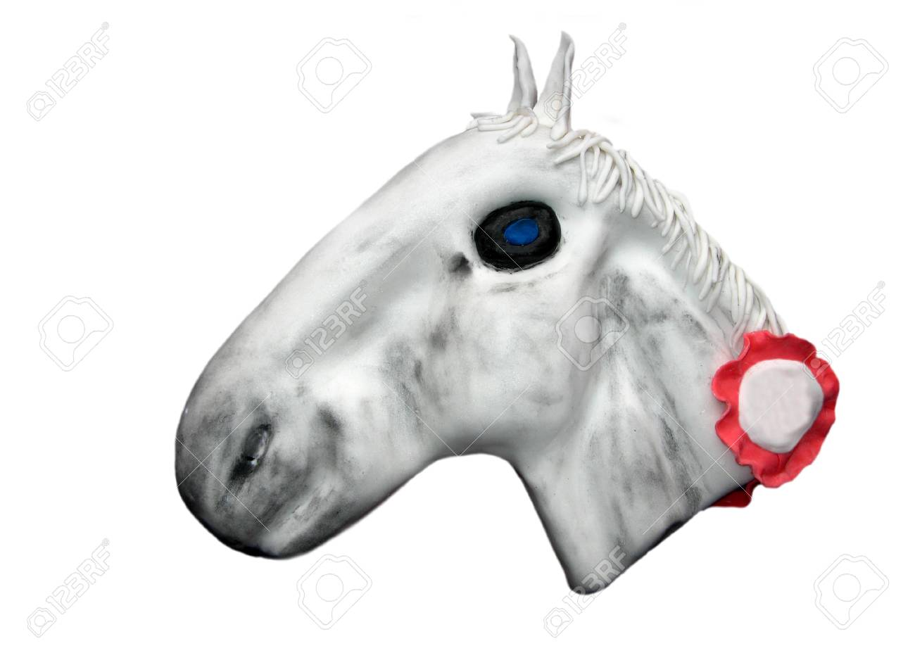 Cake Horse Head Stock Photo Picture And Royalty Free Image Image 17695056