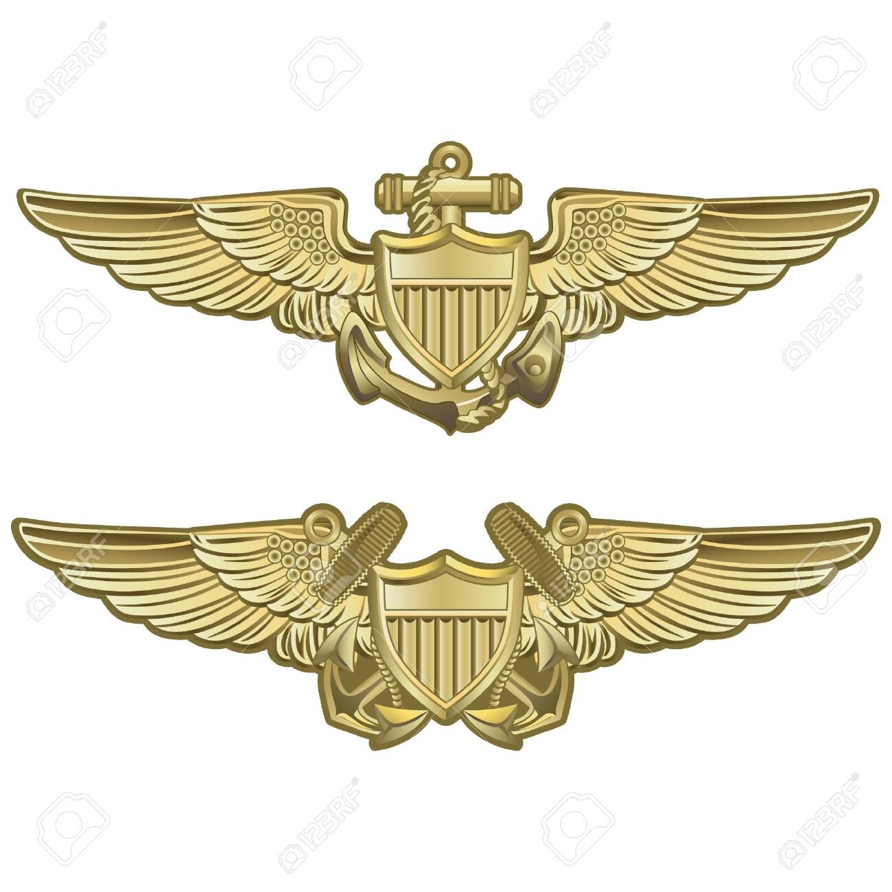 naval aviator wings royalty free cliparts, vectors, and stock illustration.  image 147312873.  123rf