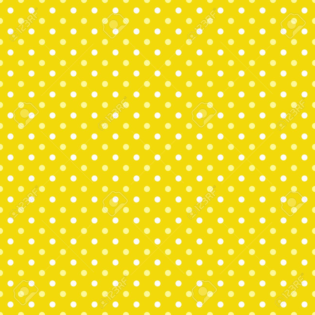 yellow polka dot background
