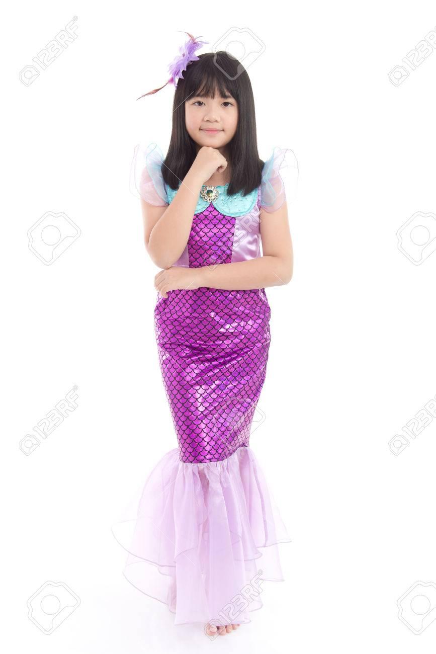 meerjungfrau kostüm kind