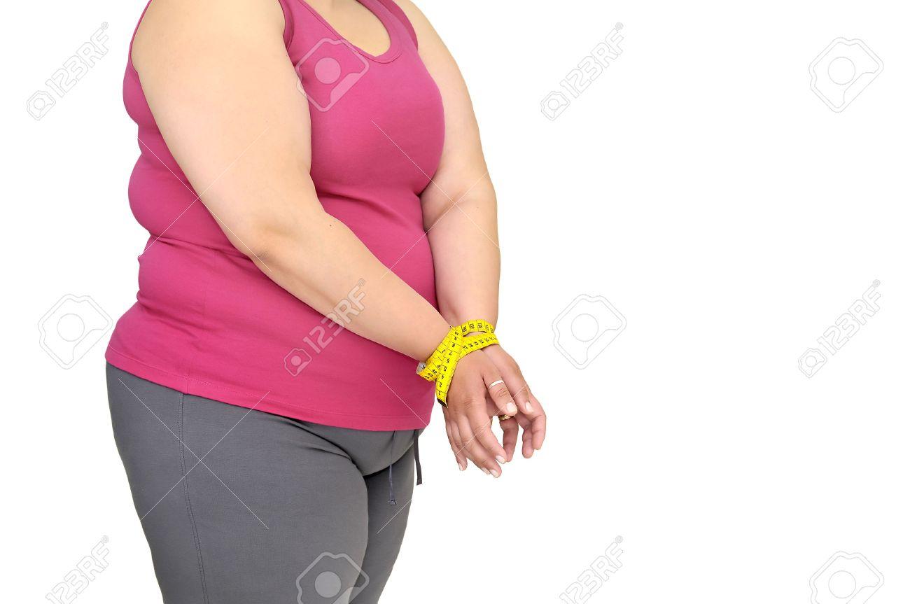 Fat women tied up