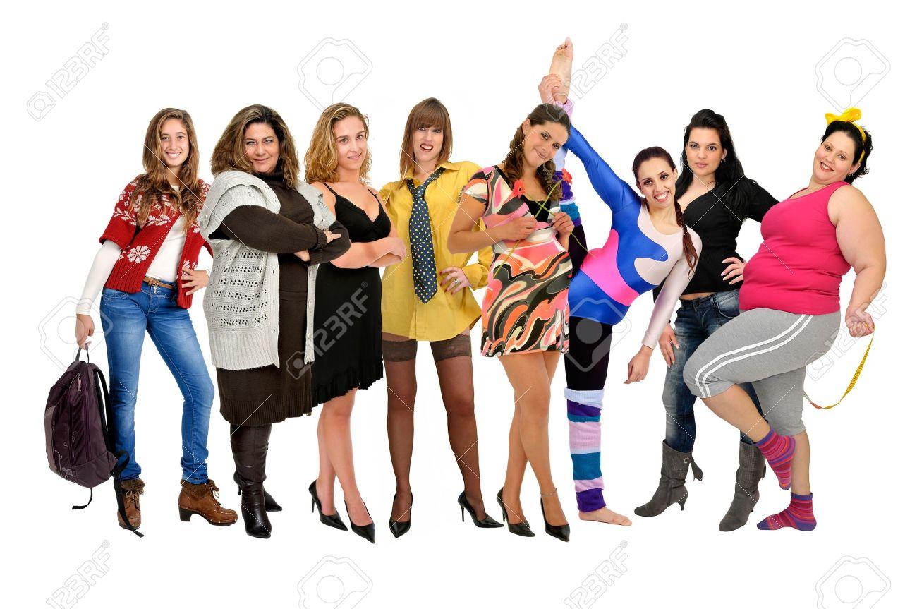 Толпа на одну женщину 11 фотография