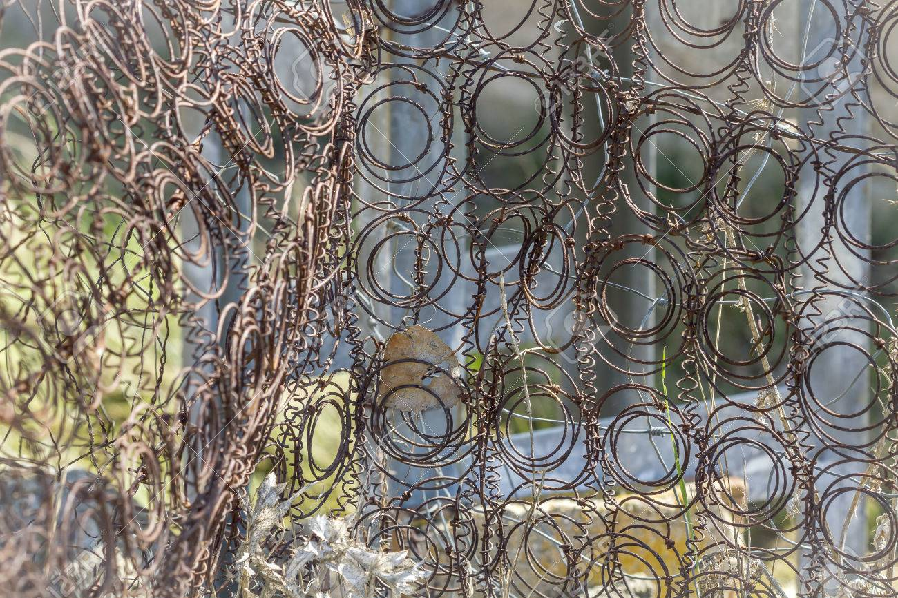 Rusty Mattress Springs And Abandoned Outdoors Stock Photo Picture And Royalty Free Image Image 40215254