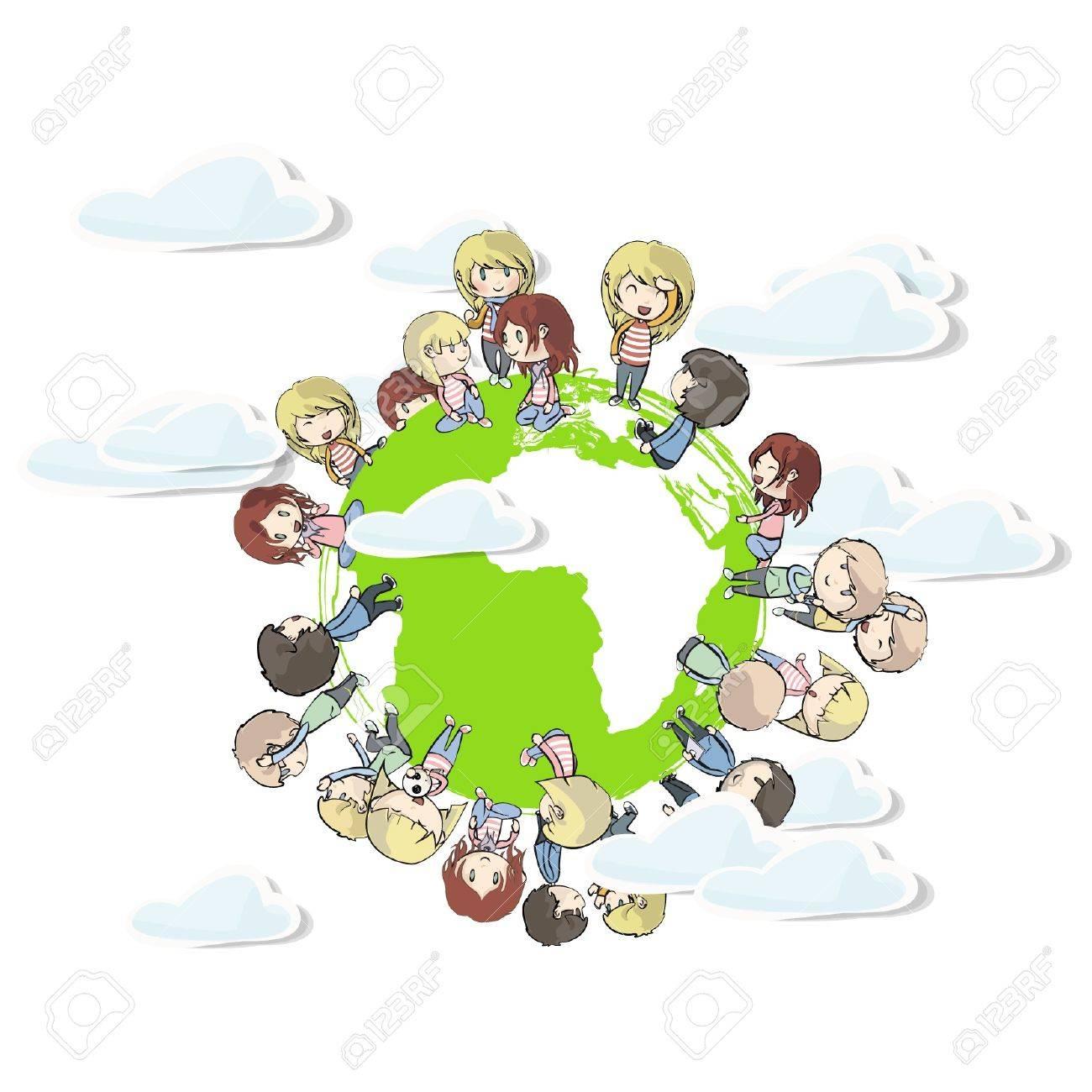 children around the world. - 16867603