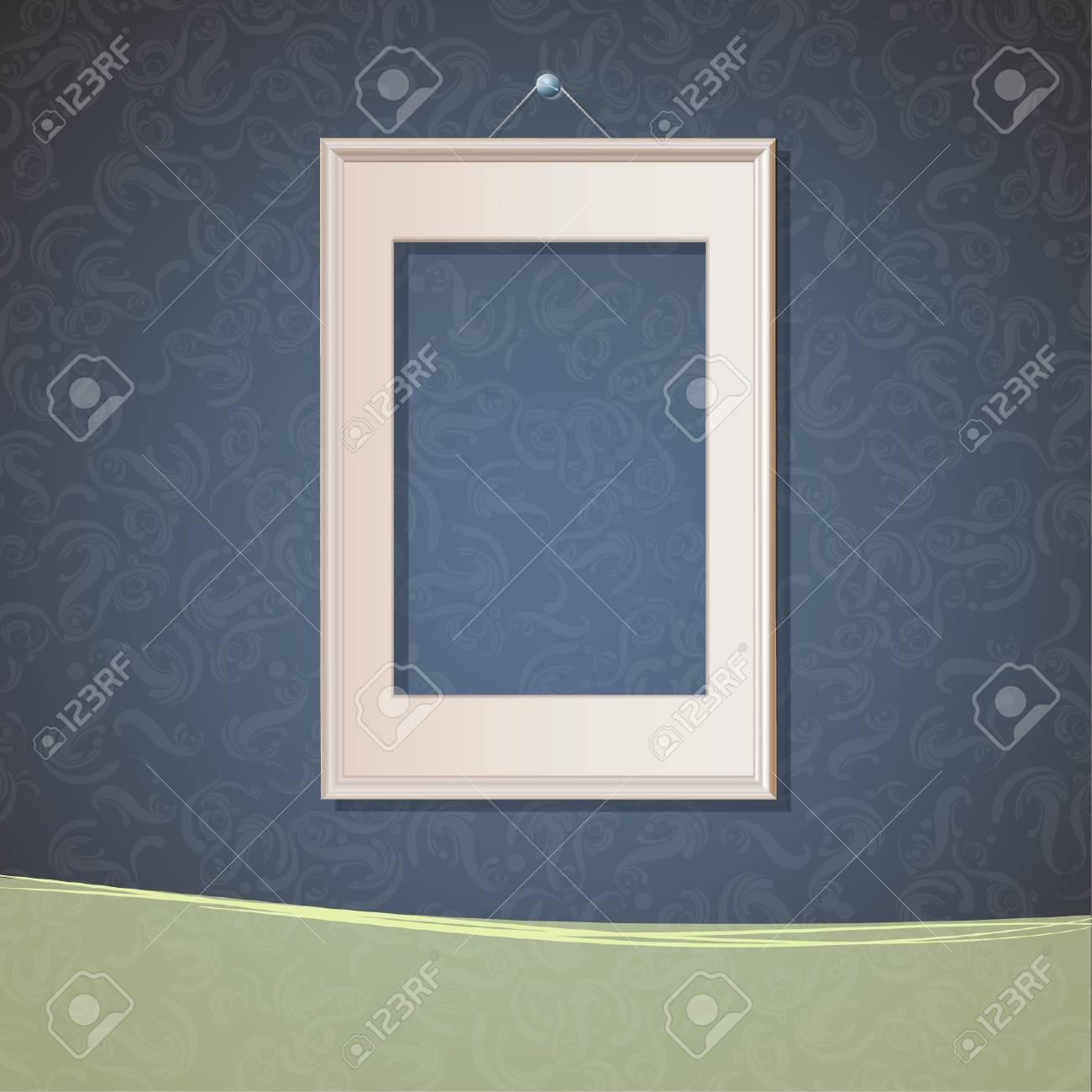Realistic framework on vintage background  Design Stock Vector - 17150440