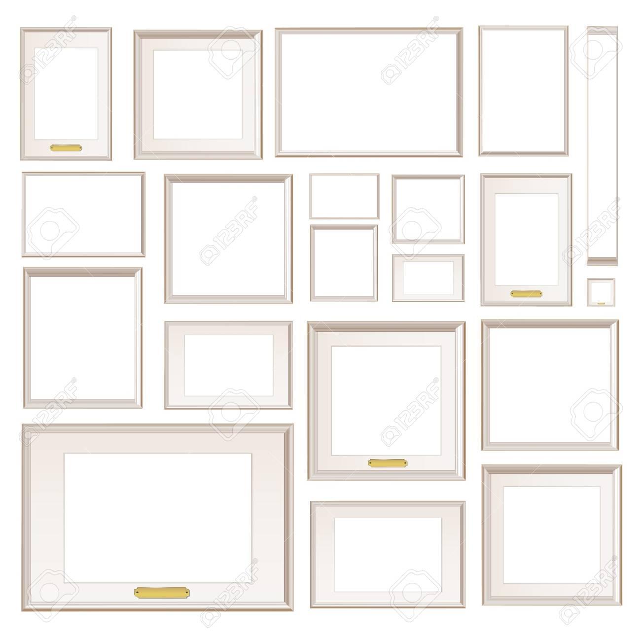 Full background of frameworks Stock Vector - 17382615