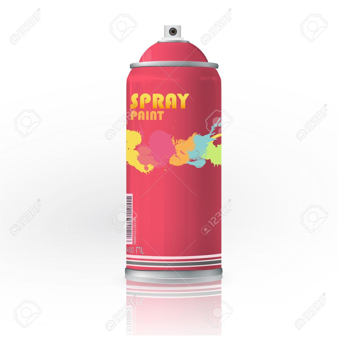 Spray color with graffiti drop  Vector design Stock Vector - 17787006