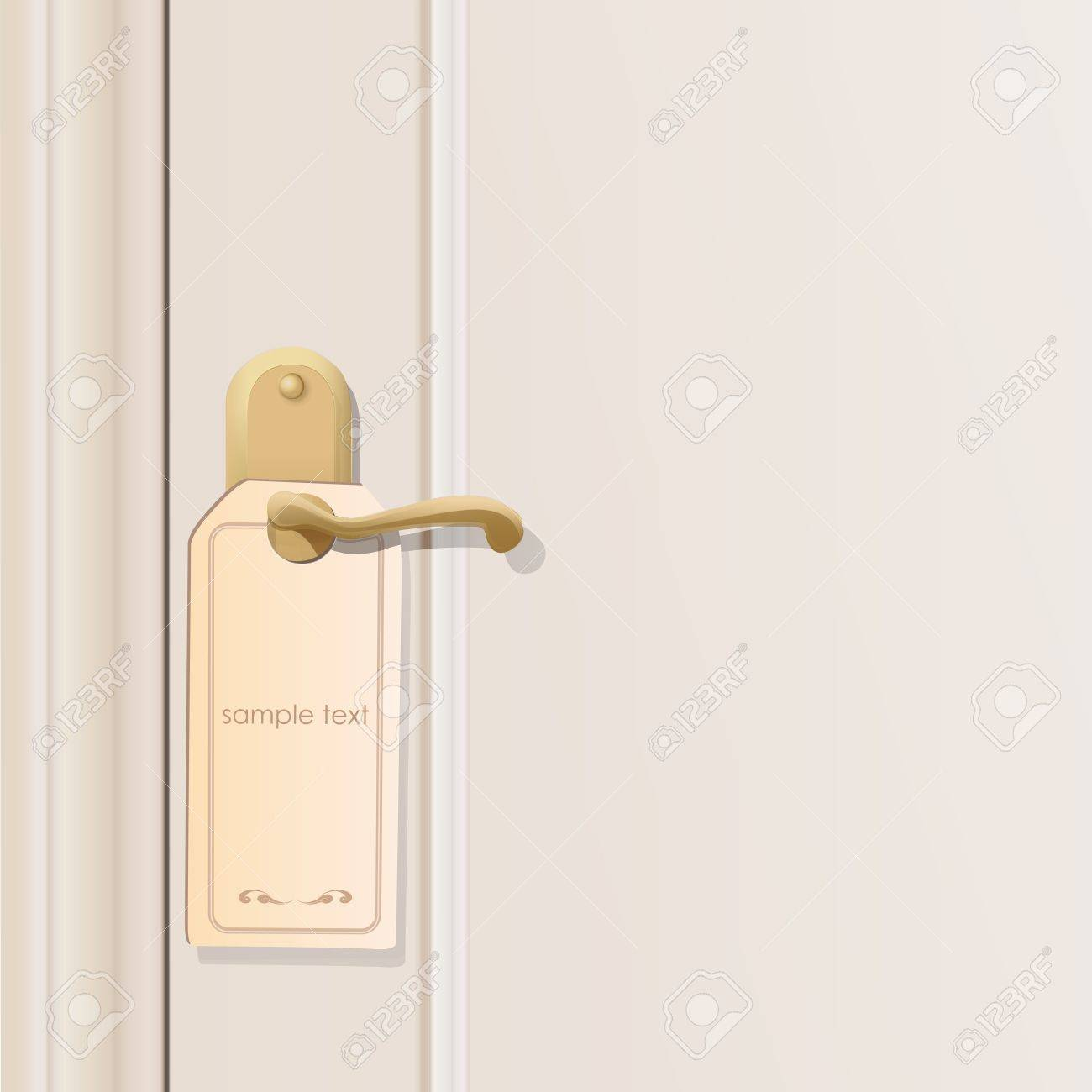 Doorknob.  design. Stock Vector - 20198634