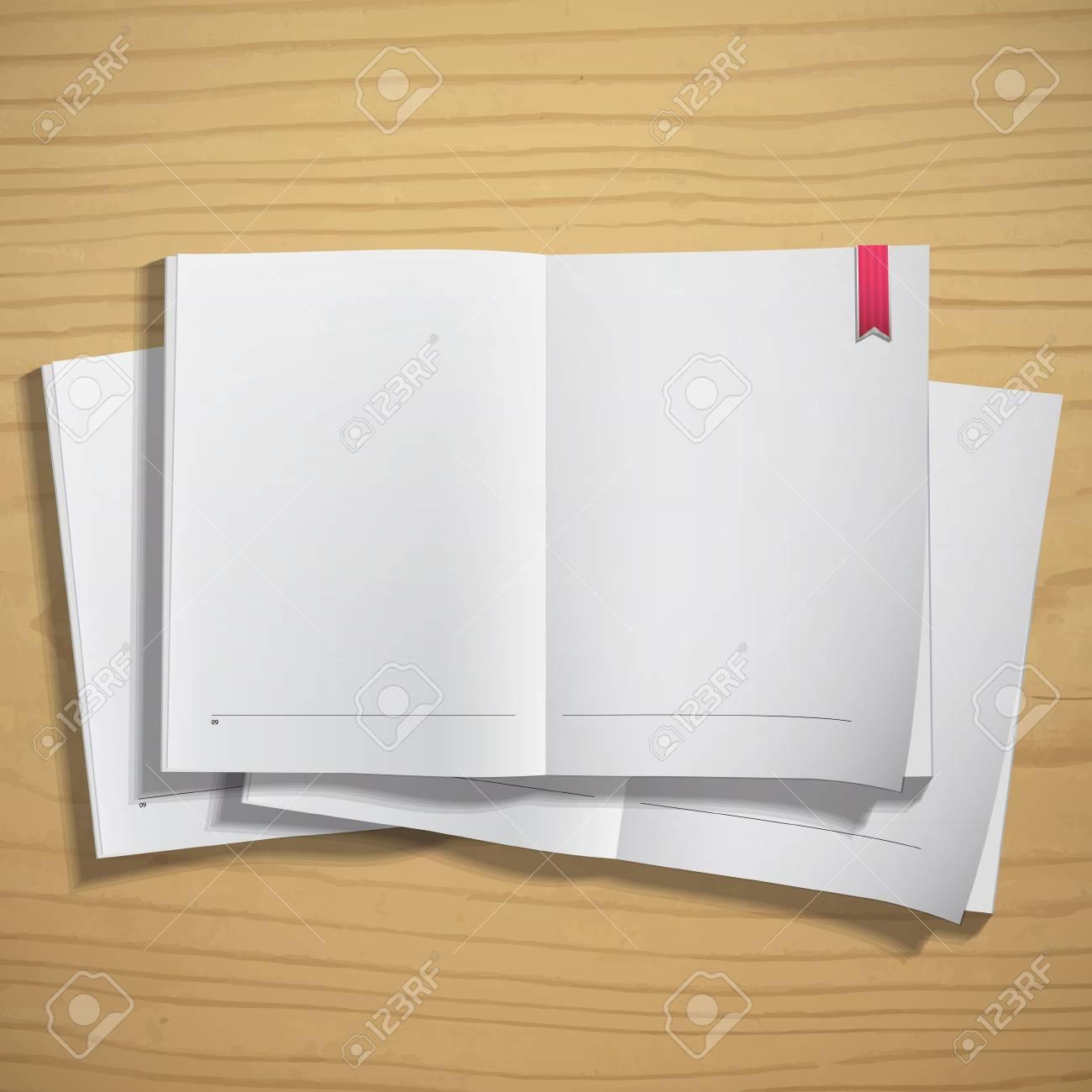 Empty white books. Vector design. Stock Vector - 20365518