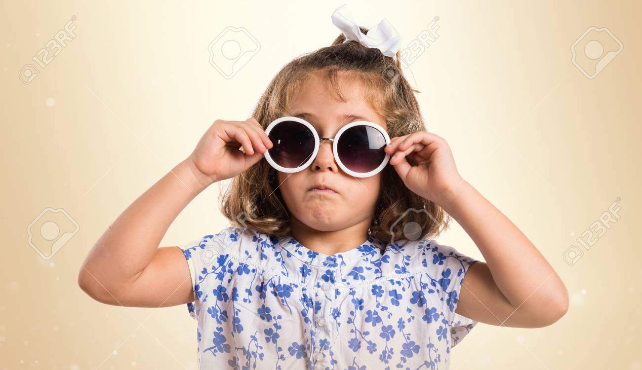 f07f9a4e5eb0 Kid With Sunglasses Stock Photo, Picture And Royalty Free Image ...
