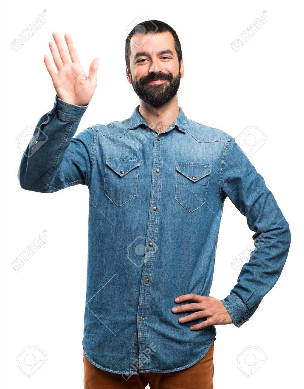 Man saluting - 51495133