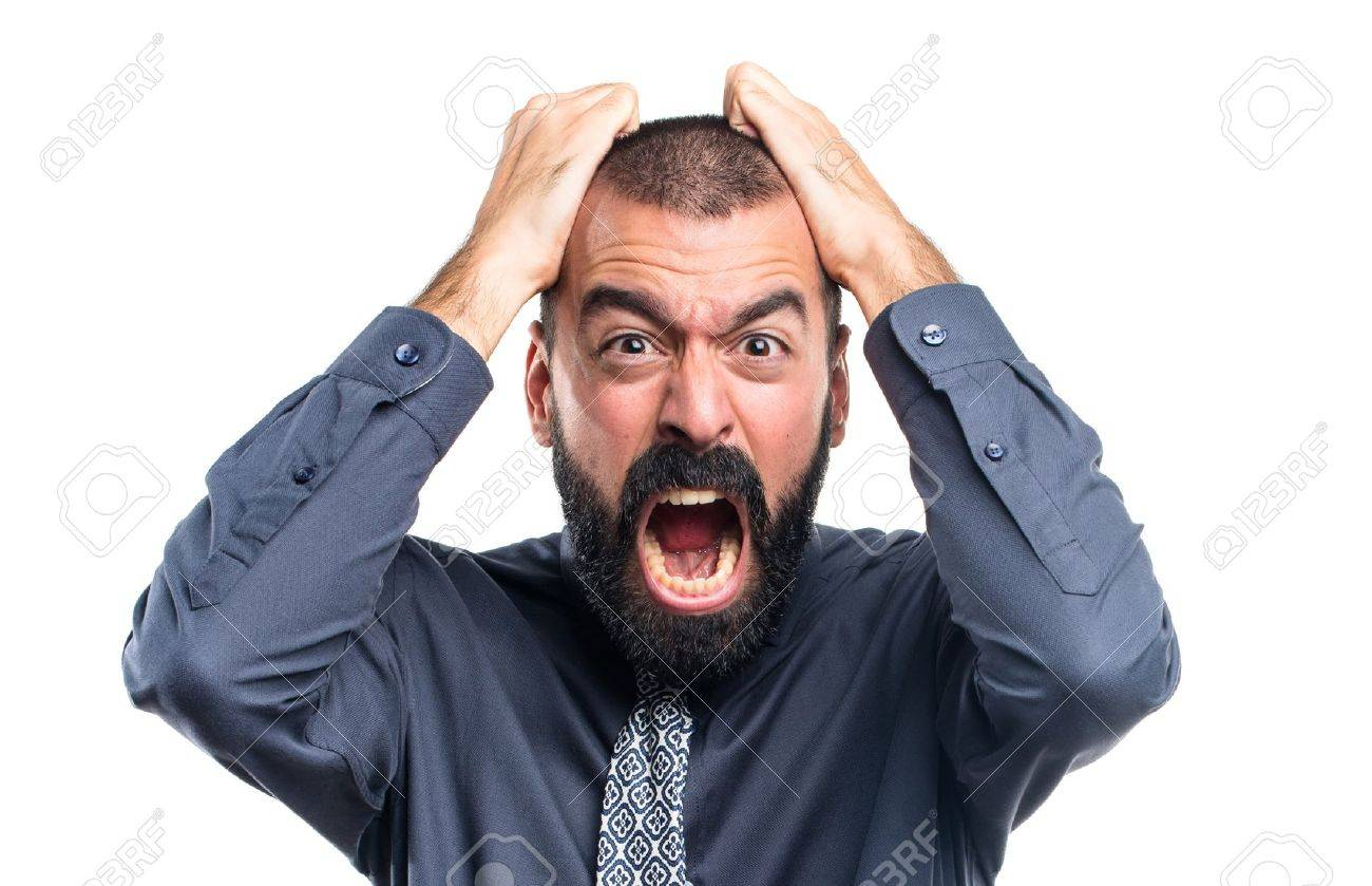 frustrated man stock photo picture and royalty free image image