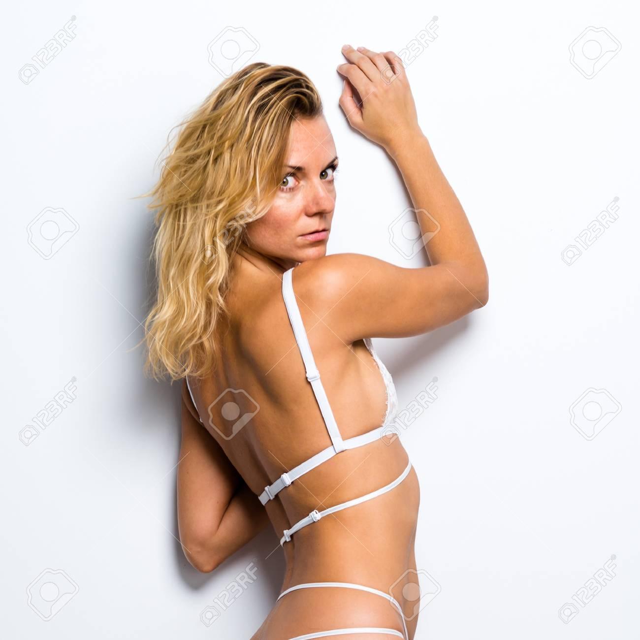 Nude young girl bondage