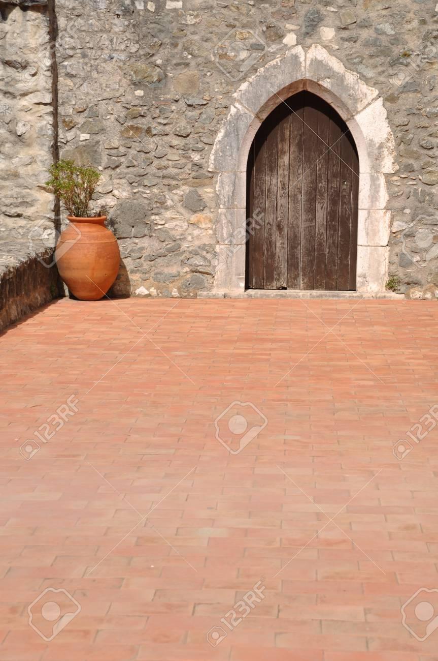 beautiful patio/terrace Stock Photo - 7783286
