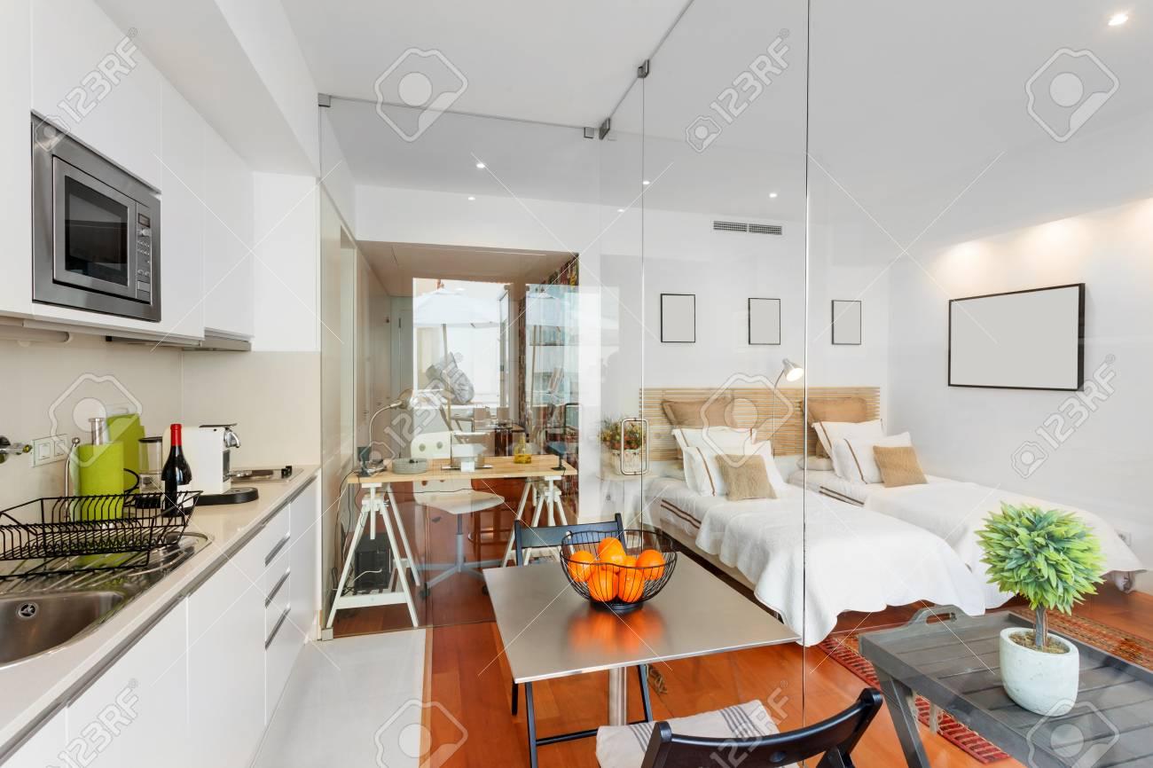 Maison moderne de chambre simple