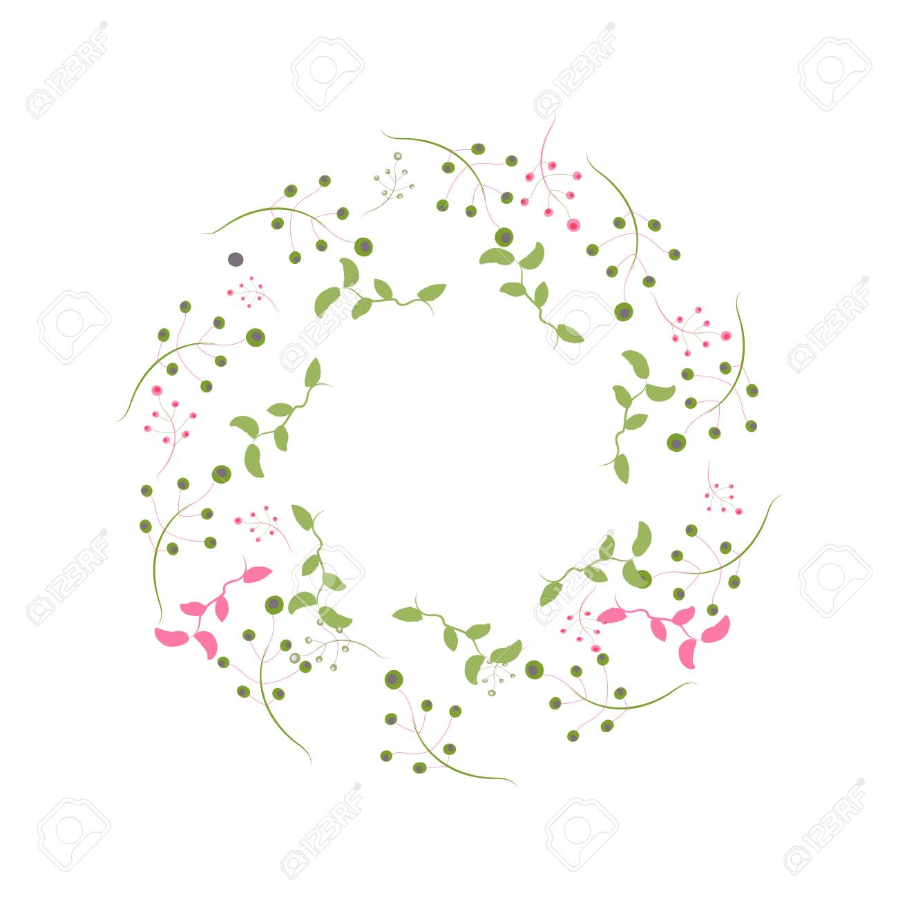 Wreath Perfect For Invitations Greeting Cards Quotes Blogs