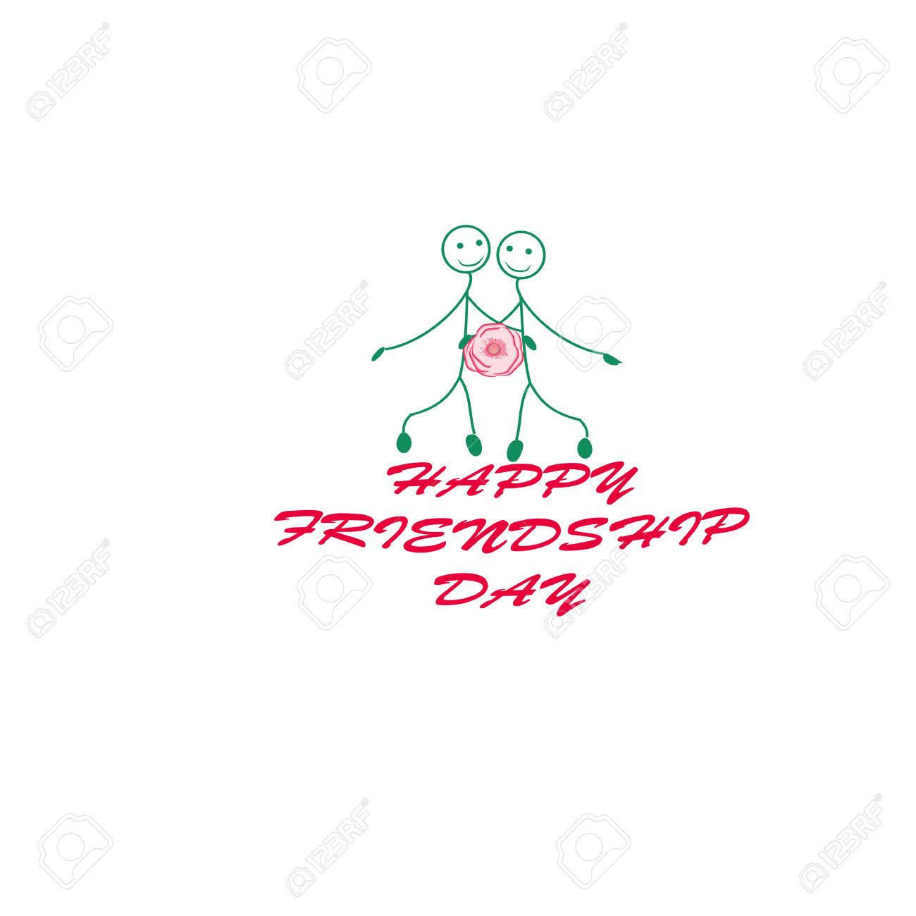 Happy Friendship Day Vector Design I Usable As Greeting Cards